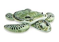 """Детский Надувной плотик Intex 57555 """"Черепаха"""" размером 191х170 см, от 3-х лет"""