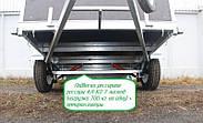 Оцинкованный одноосный бортовой прицеп Кияшко для легкового авто 23PB1103F, фото 6