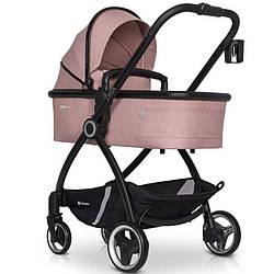 Детская коляска 2 В 1 EURO-CART CROX ROSE