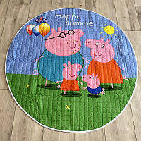 Коврик-мешок для игрушек Свинка Пеппа и ее семья - 150 см