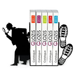 Упоры для книг Glozis Sherlock G-029 30 х 20 см, КОД: 147582