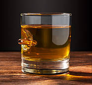 Стакан для виски с пулей 7.62 мм, фото 2