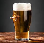 Бокал для пива с пулей, фото 2