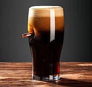 Бокал для пива с пулей, фото 3