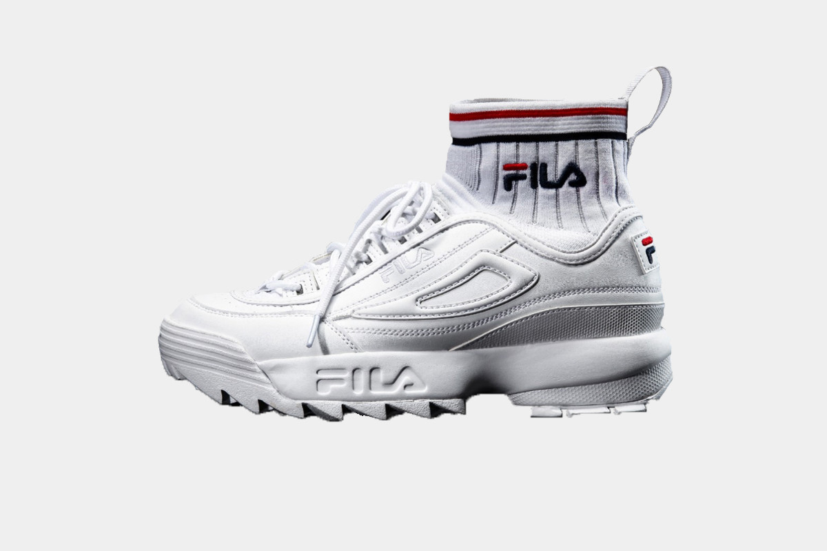 fila disruptor sock fit