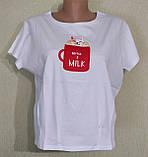 Молодежная футболка с рисунком., фото 3