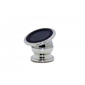 Автомобильный магнитный держатель для мобильных телефонов Mobile Bracket Серый