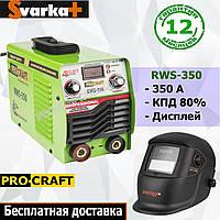 Инверторный сварочный аппарат Procraft RWS-350 + маска Хамелеон