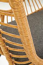Кресло IKARO серый / ротанг, фото 3