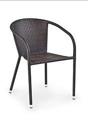 Крісло MIDAS krzesło темно-коричневий