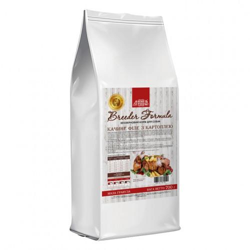 Сухой корм Home Food Холистик для взрослых собак малых пород, с уткой и картофелем, беззерновой, 700 г