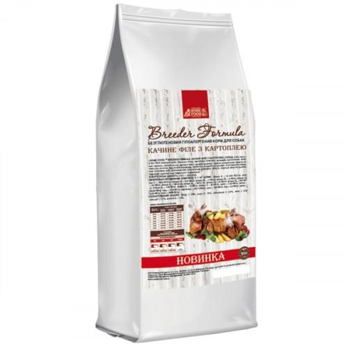 Сухой корм Home Food Холистик для взрослых собак малых пород, с уткой и картофелем, беззерновой, 5 кг