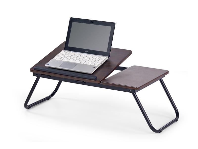 Стол для ноутбука B19 коричневый 60/34/23 см