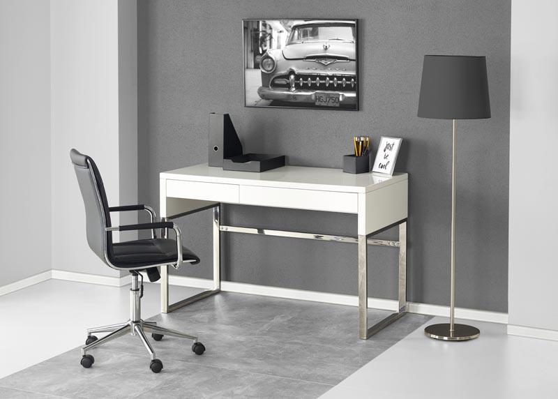 Стол письменный B32  белый 120/60/76 см