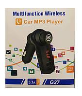 ФМ модулятор G27. FM трансмиттер Bluetooth USB MP3