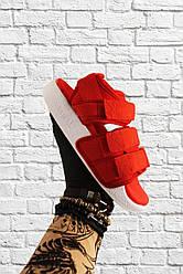 Женские сандали Adidas Sandals Red White (красный)
