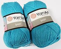 Пряжа Baby 50гр - 150м (552 Голубой) YarnArt
