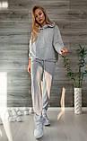 Спортивний костюм жіночий з двуніткі 39-548, фото 4