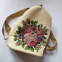 Рюкзак пошитый под вышивку
