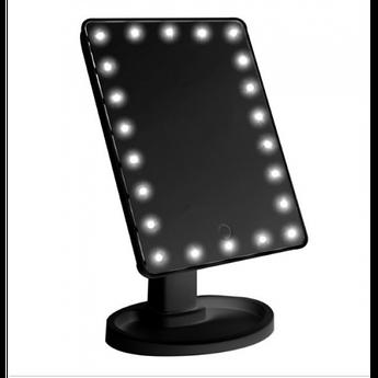 Сенсорное настольное зеркало для макияжа UTM Magic Makeup с 22 LED подсветкой Black