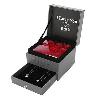 Подарочная коробка I Love You Мыльные розы UTM