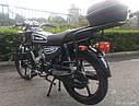 Мотоцикл SPARK SP110C-2С (синий,черный,красный,белый,серый,бордо) +Доставка бесплатно, фото 5
