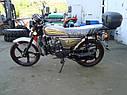 Мотоцикл SPARK SP110C-2С (синий,черный,красный,белый,серый,бордо) +Доставка бесплатно, фото 3