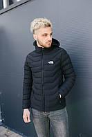 Мужская демисезонная куртка North Face на велюре 2996, фото 1