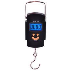 Весы электронные кантер с подсветкой 602L 50 кг Black GOVT567, КОД: 727810