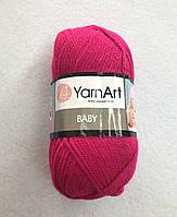 Пряжа Baby 50гр - 150м (8041 Фуксия) YarnArt