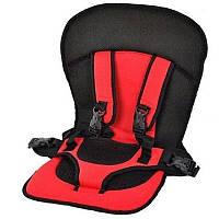 Детское авто кресло MULTIFUNCTION CAR CUSHION Красное (реальное фото)