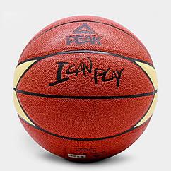 Мяч баскетбольный Peak Sport р.7 PEAK Q112070-BRO 6941722660858, КОД: 1375184