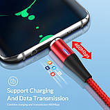Коннектор Miсro USB для магнитного кабеля с передачей данных и зарядом до 5 Ампер, фото 3