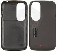 Задняя крышка батареи для HTC Desire V T328w, оригинал (черный)