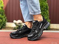 Кроссовки Balenciaga Triple S Sneaker черные