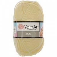 Пряжа Baby 50гр - 150м (7003 Желтый) YarnArt