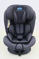 Детское автомобильное кресло LINDO Темно-серый HB 636, КОД: 1552991