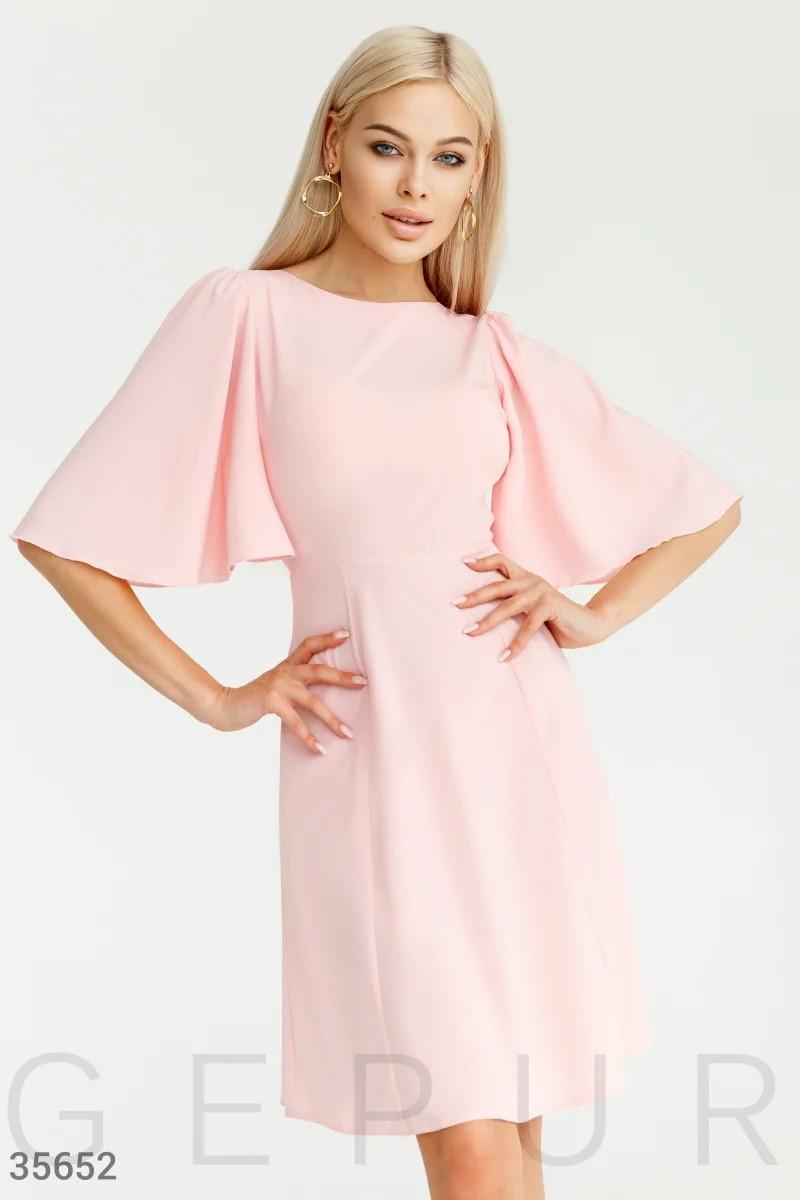 Ніжна сукня пастельних рожевого відтінку S,M,L,XL