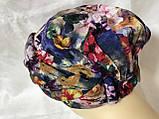 Летняя разноцветная бандана-шапка-косынка-чалма-тюрбан, фото 3
