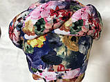 Летняя разноцветная бандана-шапка-косынка-чалма-тюрбан, фото 2