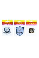 Набор аппликаций KWM 3 штуки 14х9 см Разноцветный K10-550283, КОД: 1791146