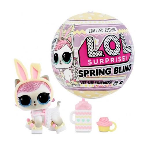 LOL Surprise Spring bling Pet ( Кукла ЛОЛ Весенний сюрприз питомец, Пасхальный выпуск Лол Блинг )