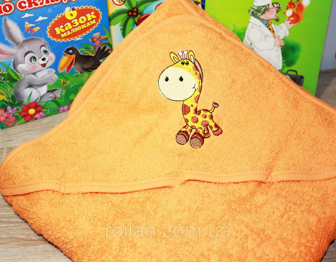 Детскийкапюшондля купания Жирафа