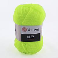 Пряжа Baby 50гр - 150м (8232 Лимонный) YarnArt