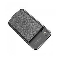 Чехол-PowerBank Baseus Plaid Backpack 3500mAh для iPhone X/XS Black