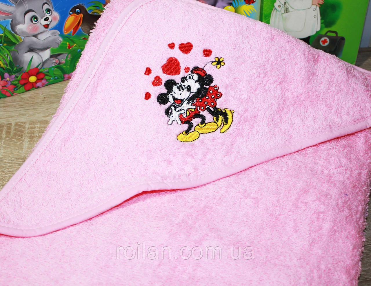 Дитячий капюшон для купання Маус
