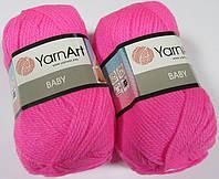 Пряжа Baby 50гр - 150м (174 Розовый) YarnArt