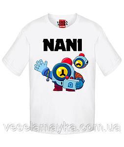 Детская футболка Бравл Старс Nani (Нани)