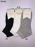 Шкарпетки короткі підліткові для хлопців Фенна ZB02-3, р.37-41, фото 5