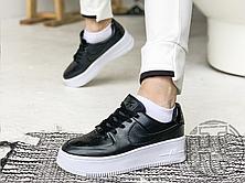 Жіночі кросівки Nike Air Force 1 Sage Low Black White AR5339-002, фото 2